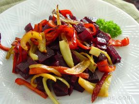 Beet and Pepper Salad
