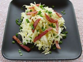 Cabbage and Bacon Salad Recipe