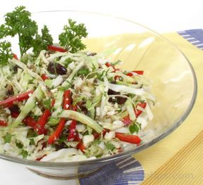 Greek Cabbage Salad
