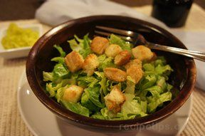 Simple Caesar Salad Recipe