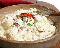 Grilled Chicken Potato Salad