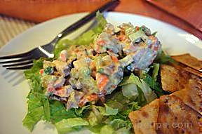 shoestring chicken salad Recipe