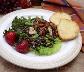 chicken and wild rice salad Recipe