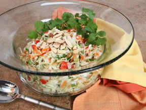 Coleslaw with Lime  Cilantro