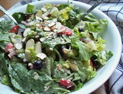 creamy raspberry toss salad Recipe