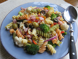 Crisp Vegetable Pasta Salad Recipe