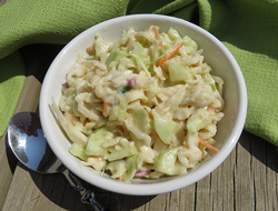 Cucumber Coleslaw Recipe