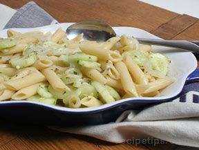 Cucumber and Onion Pasta Salad