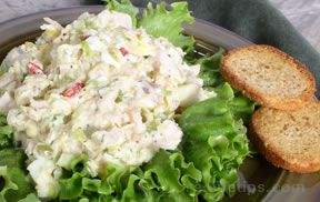 turkey with egg salad Recipe