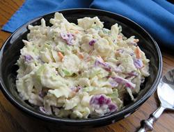 extra creamy coleslaw Recipe