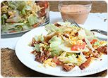Bacon, Lettuce and Tomato Salad Recipe