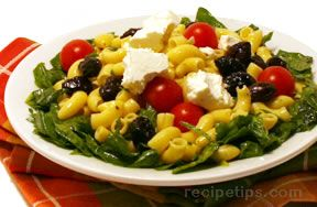 Greek Pasta SaladnbspRecipe