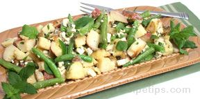 roasted potato and green bean salad Recipe