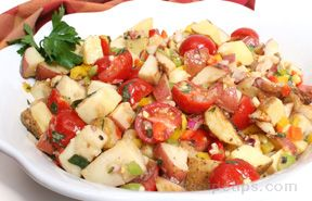 Grilled Potato and Corn Salad
