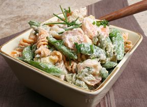 Grilled Shrimp and Pasta Salad