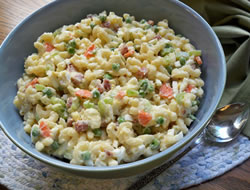 Ham and Veggie Pasta Salad Recipe