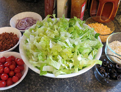 house side salad Recipe