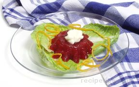 Strawberry Applesauce Salad Recipe