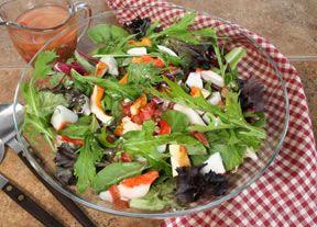 Lobster Mushroom Salad