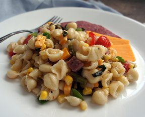 marinated italian antipasto pasta salad Recipe