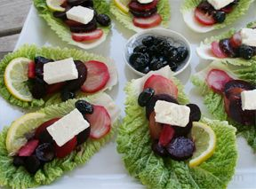 Mediterranean Style Beet Salad