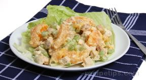 Orange Chicken SaladampnbspRecipe