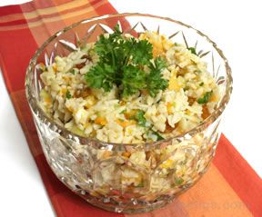 Orange Orzo Salad