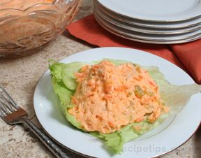 Orange Jell-O Vegetable Salad