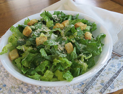 Parmesan Romaine Toss Salad Recipe