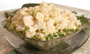 Potato and Parmesan Salad