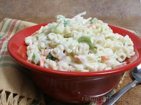pasta cucumber salad Recipe