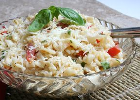Pasta and Fresh Mozzarella Salad Recipe