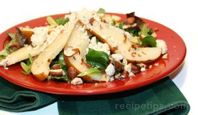 pear and hazelnut salad Recipe