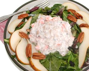 Pear and Pecan Chicken Salad