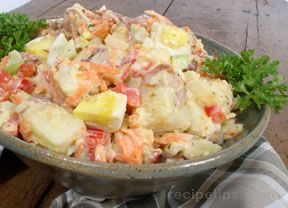 Crunchy Potato Salad Recipe