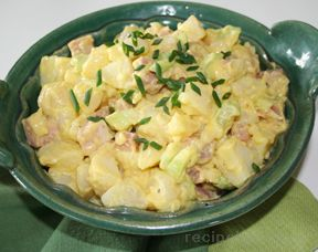 Potato Salad with Ham Recipe