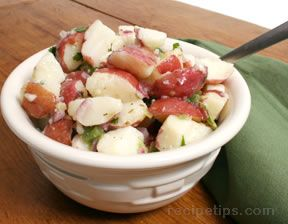 Lemon and Herb Potato Salad Recipe