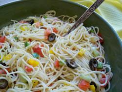 Ranch Spaghetti Salad Recipe