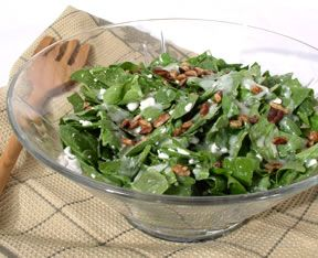 Cottage Spinach Salad Recipe