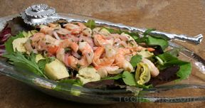 Shrimp and Artichoke Salad Recipe
