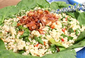 spinach rice salad Recipe