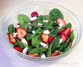 Spinach Salad with Strawberries Recipe