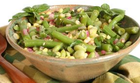 succotash salad with lemon vinaigrette Recipe