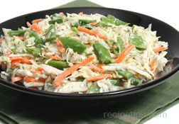 Sugar Snap Pea Cole Slaw