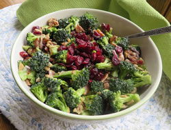 sweet broccoli salad Recipe
