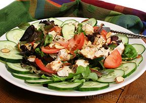 Sweet-N-Spicy Grilled Chicken Salad Recipe