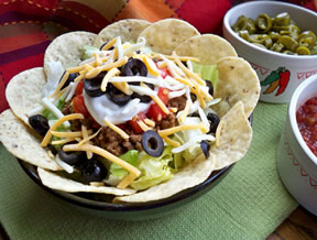 Taco Salad for One Recipe