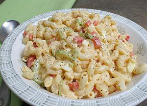 Tangy Macaroni Salad Recipe