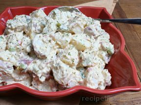 Three Mustard Potato Salad
