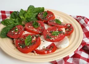 tomato and mozzarella salad Recipe